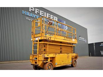 Nacelle ciseaux Liftlux SL153-E12 2WD Electric, 17.3m Working Height, 500k