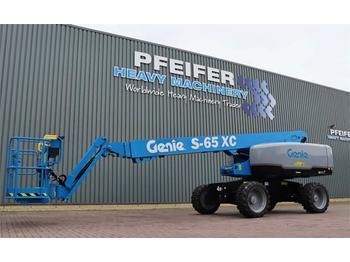 Nacelle télescopique Genie S65XC Diesel, 4x4 Drive, Xtra Capacity 454 kg, 22m