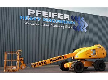 Nacelle télescopique Haulotte H14TX Diesel, 4x4 Drive, 14,07m Working Height, 10