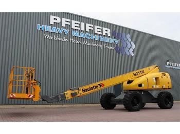 Nacelle télescopique Haulotte H21TX Diesel, 4x4 Drive, 20.85m Working Height, 17