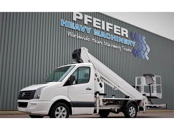 Сamion avec nacelle Ruthmann TB270.3 Driving Licence B/3. Volkswagen Crafter TD