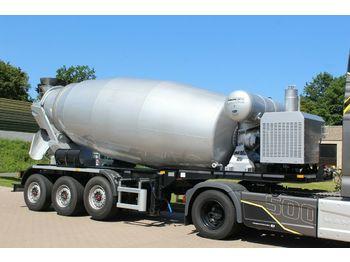 Toupie béton EUROMIX MTP 12m³ Betonmsicher Auflieger