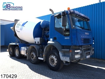 Iveco Trakker 380 8x4, Baryval mixer, Steel suspension, Manual, Airco - toupie béton