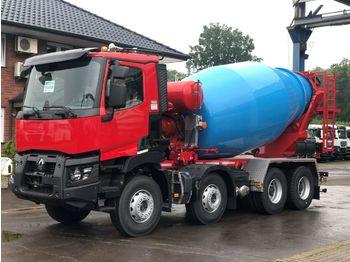 Toupie béton Renault C480 8x4 / EuroMix MTP  10m³ L