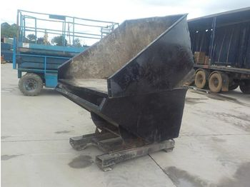 Tipping Skip to suit Forklift (2 of) - toupie béton
