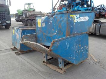 Tipping Skip to suit Forklift (3 of) - toupie béton