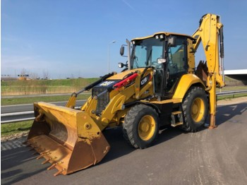 Caterpillar 428F2 4x4 Backhoe Loader - tractopelle