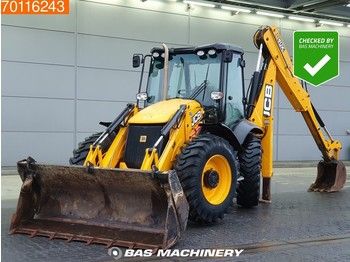 JCB 4CX Telescopic arm - Hammer line - tractopelle