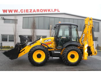 Tractopelle JCB BACKHOE LOADER 4CX P12 ECO 1900 MTH NEW