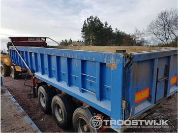 SDC SDC 3 axle tipping trailer  3 axle tipping trailer - benne agricole