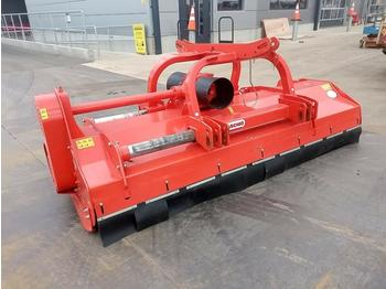2019 Maschio Bufalo 280 PTO Driven Flail Mower to suit 3 Point Linkage (Category N Insurance Loss) - broyeur à axe horizontal