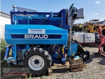 Braud TB 10 - machine à vendanger
