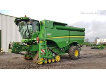 Moissonneuse-batteuse John Deere S670