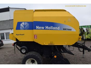 NEW HOLLAND BR 7060 Superfeed II - presse à balles rondes