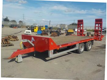 2017 PF Trailers 16 ton Twin Axle Low Loader - remorque agricole
