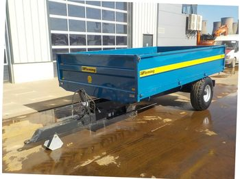 2018 Fleming TR6 7.5 ton Single Axle Tipping Trailer - remorque agricole