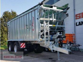 Remorque agricole Fliegl ASW 281 TAURUS FOX 45m³ + Top Lift Light