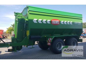 Remorque agricole Hawe ULW 2500 T