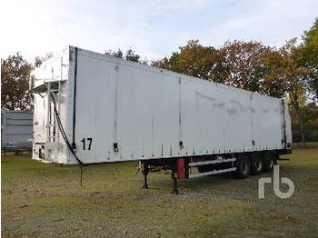 JUMBO FABRIEK VAN D0240 Walking Floor Trailer - remorque agricole