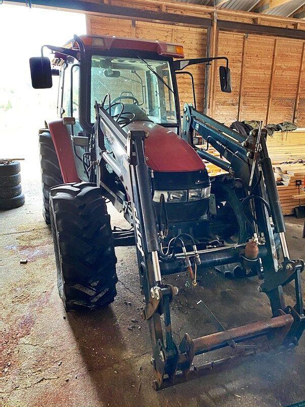 tracteur agricole CLAAS IH JX1090U *4x4*Front loader*6000H*