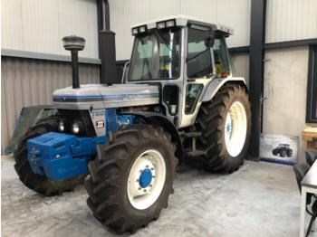 Tracteur agricole Ford 7810111 silver nr 80