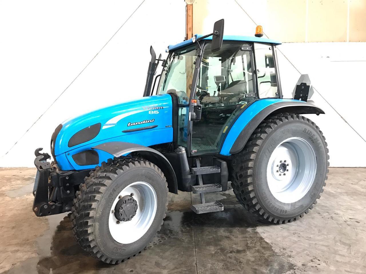 tracteur agricole Landini Vision 85