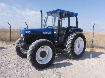 NEW HOLLAND 6640 - tracteur agricole