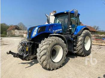 NEW HOLLAND T8.380 - tracteur agricole