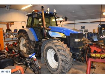 Tracteur agricole NEW HOLLAND TM 190 4WD, Tractor