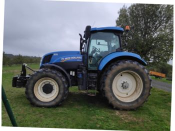 New Holland T7.210 RANGECOMMAND - tracteur agricole