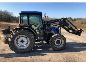 New Holland TN 75  - tracteur agricole