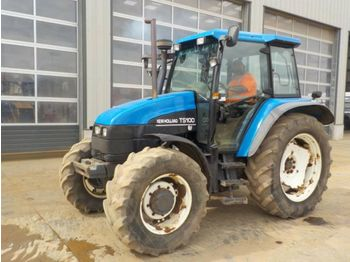 New Holland TS100 - tracteur agricole