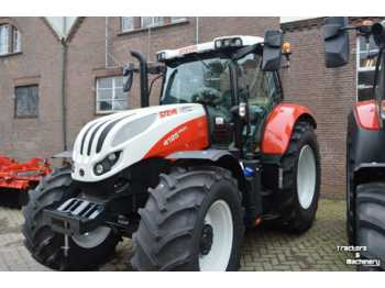 Tracteur agricole Steyr profi 4125 8-drive