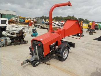 Single Axle Chipper, Lister Engine - broyeur forestier