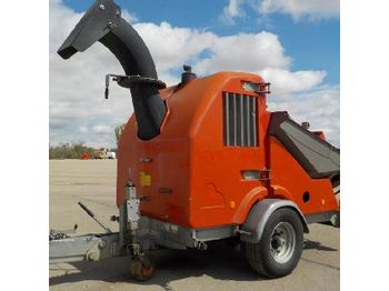 Teico Single Axle Wood Chipper - broyeur forestier