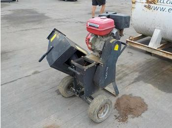 Wood Chipper, Petrol Engine - broyeur forestier