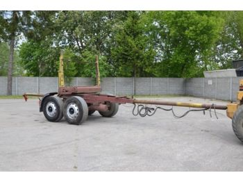 AUTOSAN D50 - trailer for wood transport - camion grumier