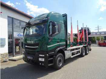 Camion grumier Iveco X-Way AS 260 X 51 Z/P HR ON+ / Cranab TZ12.2: photos 1