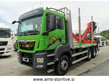 MAN TGS 33.480 6X4 BL  - camion grumier