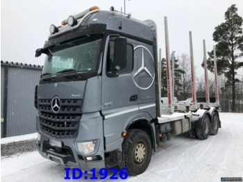 Camion grumier MERCEDES-BENZ Actros 2651 6x4 Retarder Full steel: photos 1