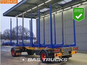 MHS PO20 Holztransporter 2 axles - camion grumier