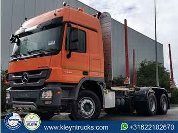 Camion grumier Mercedes-Benz ACTROS 3346 6x4 full steel eps