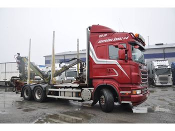 SCANIA R560LB6X4HSA - camion grumier