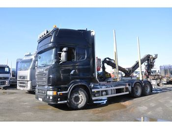 SCANIA R620 LB 6X4 MNB - camion grumier
