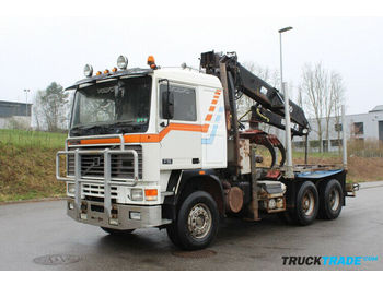 Camion grumier Volvo F16 6x4 Holzkran