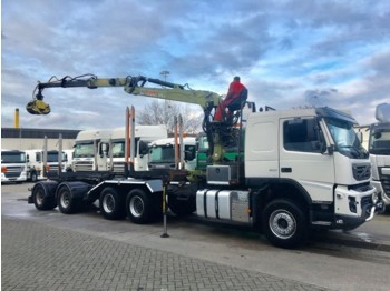 Camion grumier Volvo FM500 Loglift lang holz with Weckmann