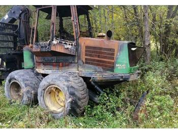 Porteur John Deere 1410 D breaking for parts