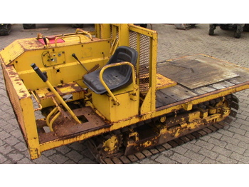 Yanmar Dozer with original Yanmar Winch - tracteur forestier