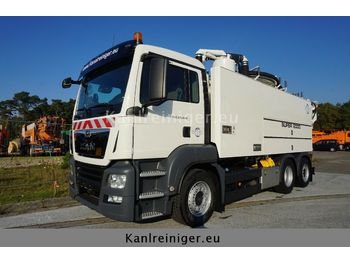 Camion vidangeur MAN TGS 26.460 Wiedemann SUPER 2000: photos 1