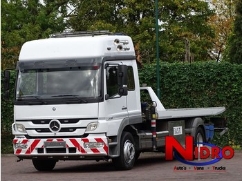 Mercedes-Benz ATEGO 1328 TOWTRUCK, 10 TM CRANE, WHEEL-LIFT, WINCH - remorqueuse